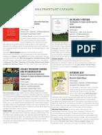 Fall 2014 Frontlist Catalog