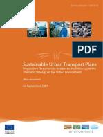 UE - Urban Mobility Plans (2007)