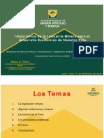 Dr Hans Flury-Importancia de La Mineria en El Desarrollo