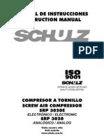 SCHULZ-SRP 3020E 3020 -Espanhol -Ingles