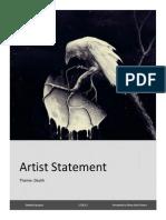 Artist Statement2014