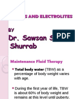 Fluids and Electrolites