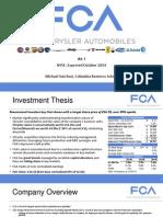 Michael Guichon Sohn Conference Presentation - Fiat Chrysler Automobiles