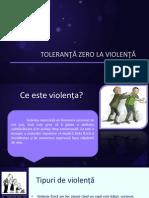 Toleranță Zero La Violență 1