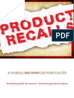 Recall de produtos