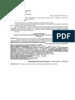 Disp. 46-2012 - Convocatoria Noviembre 2012 p.e.p. y j.y a.