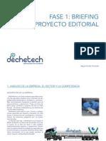 Briefing Déchetech