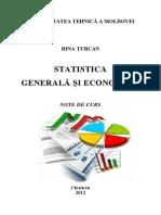 Statistica Generala Si Economica Note Curs DS