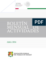 Boletín Abril 2014