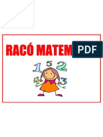 RACÓ MATEMÀTIC