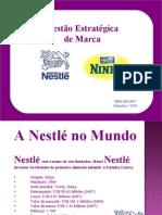 Trabalho de Branding - Leite Ninho Açaí (apresentação)