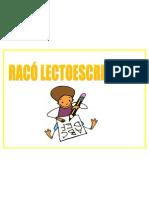 RACÓ LECTOESCRIPTURA