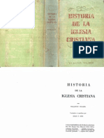 Historia de La Iglesia Cristiana (Williston Walker)