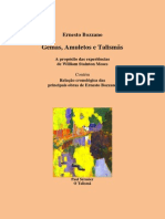 Gemas, Amuletos e Talismãs (Ernesto Bozzano)