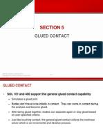 NASTRAN Glued Contact
