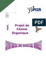 Synthèse crystal violet - INSA 2ème année ICBE