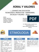 Etica Moral y Valores