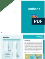 01.Amharic Phrasebook