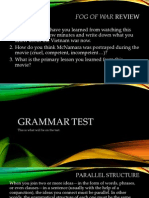 grammar test proper