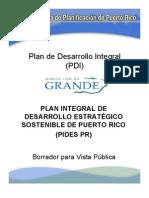 Plan Integral de Desarrollo Economico Sustentable