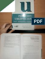 Monkiewicz J, Podstawy Ubezpieczeń t. 1