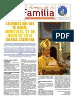 EL AMIGO DE LA FAMILIA domingo 25 mayo 2014