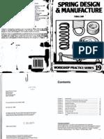94129176 Workshop Practice Series 19 Spring Design Manufacture
