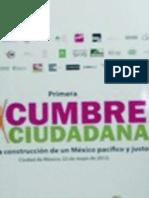 Relatoria Cumbre Ciudadana