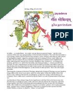 Jayadeva Gita Govindam Bilingue