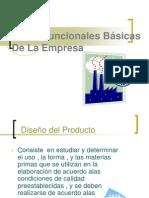 Áreas Funcionales Básicas de La Empresa