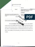 Shkreli - Lehman Complaint