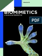 Biomimetics - A Molecular Perspective