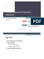 Introduction to Patient-Reported Outcome Measures