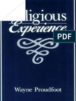 Proudfoot, Religious Experience