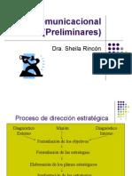 Plan Comunicacional (Preliminares)