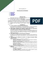 Manual de Conservacion de Alimentos