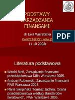 Ew - Podstawy Zarzadzania Finansami Przedsiebiorstwa.cz.1.08
