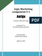 Assingment #2 Auriga