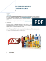 4 Empresas Peruanas Con Presencia Internacional