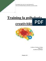Training La Psihologia Creativității