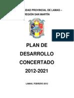 Plan de Desarrollo Concertado 2012-2021
