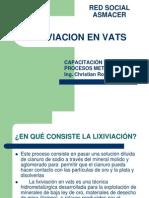Lixiviacion en VATS