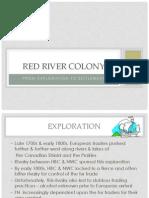 red river colony brief intro