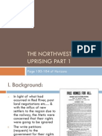 the northwest uprising part 1 of notes