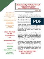 hfc may 25 2014 bulletin