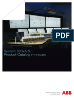 3BSE062937 E en System 800xA 5.1 Product Catalog (FP4 Included)