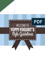 SFSU // Yoppi Yogurt Rebrand