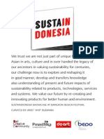 Sustaindonesia at Bangkok Design Festival 2014