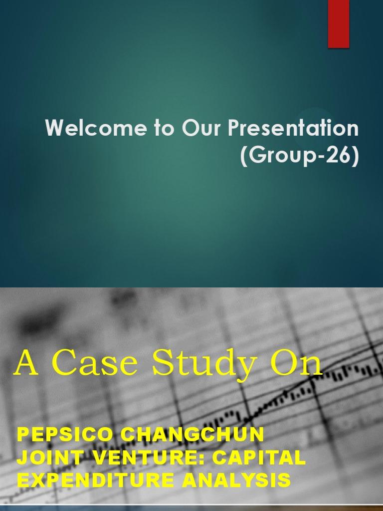 pepsico case analysis