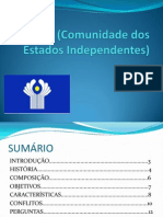CEI (Comunidade Dos Estados Independentes) Pronto